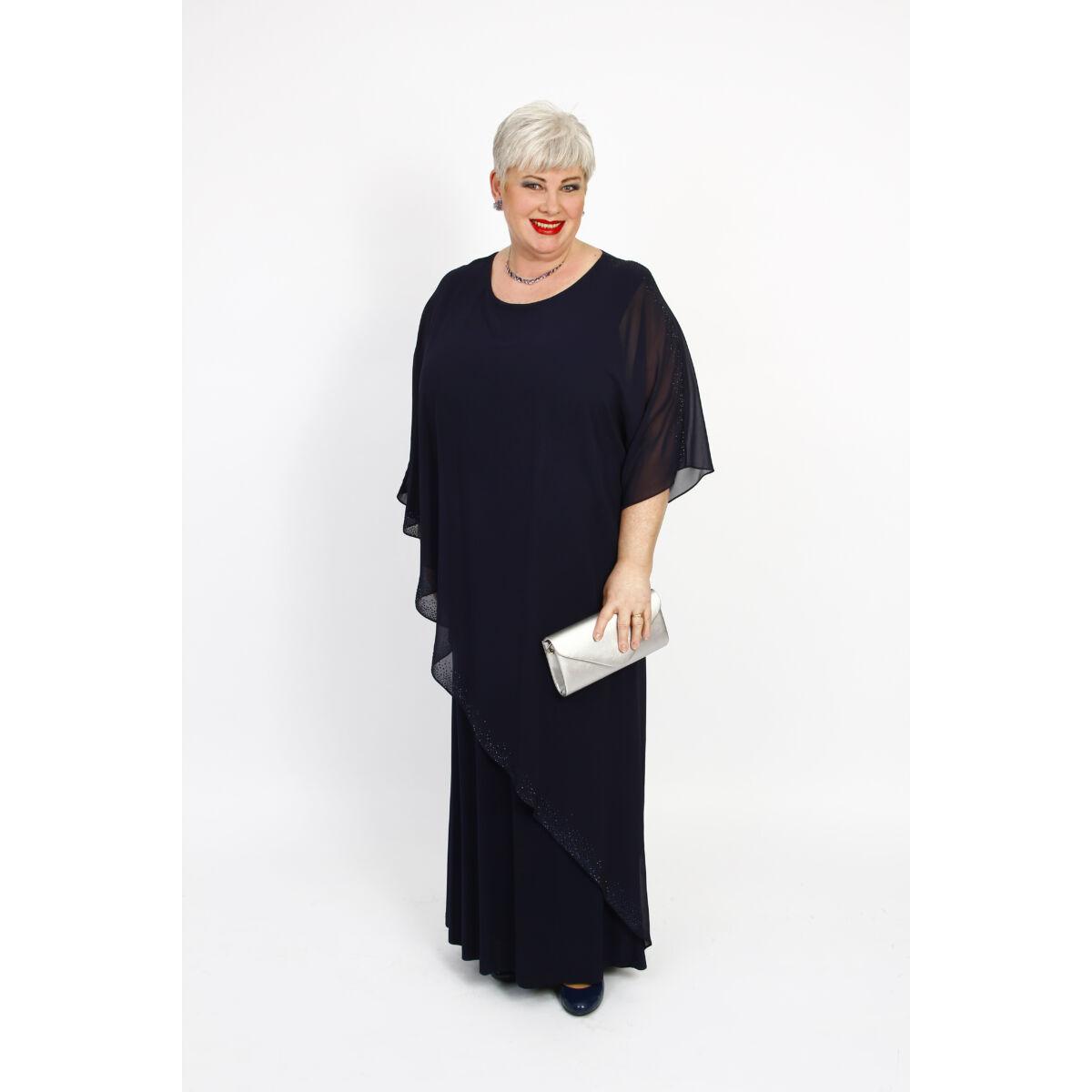 Estella ruha - nagyméretű örömanya és alkalmi maxi ruha