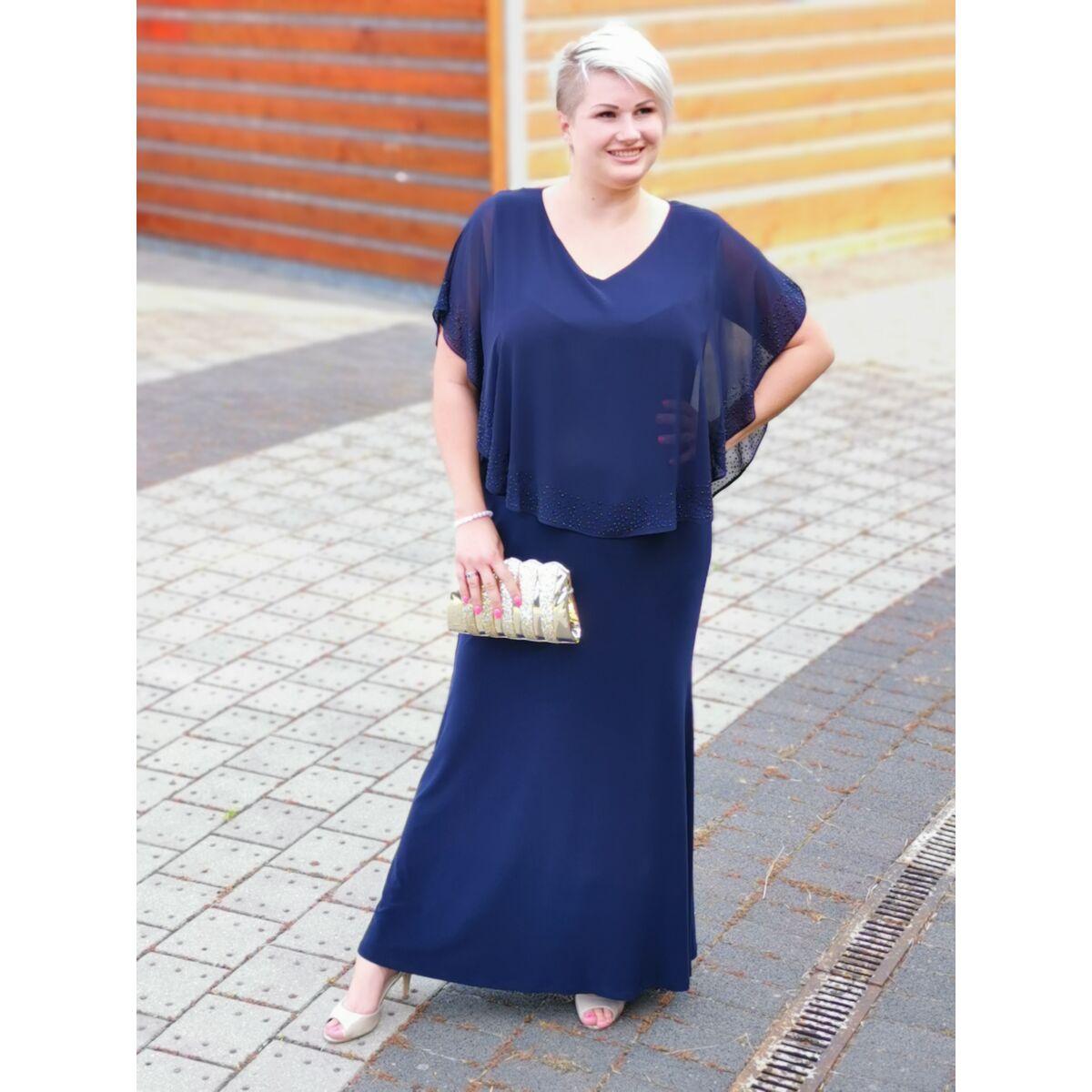 Ulla ruha - plus size örömanya és alkalmi maxi ruha