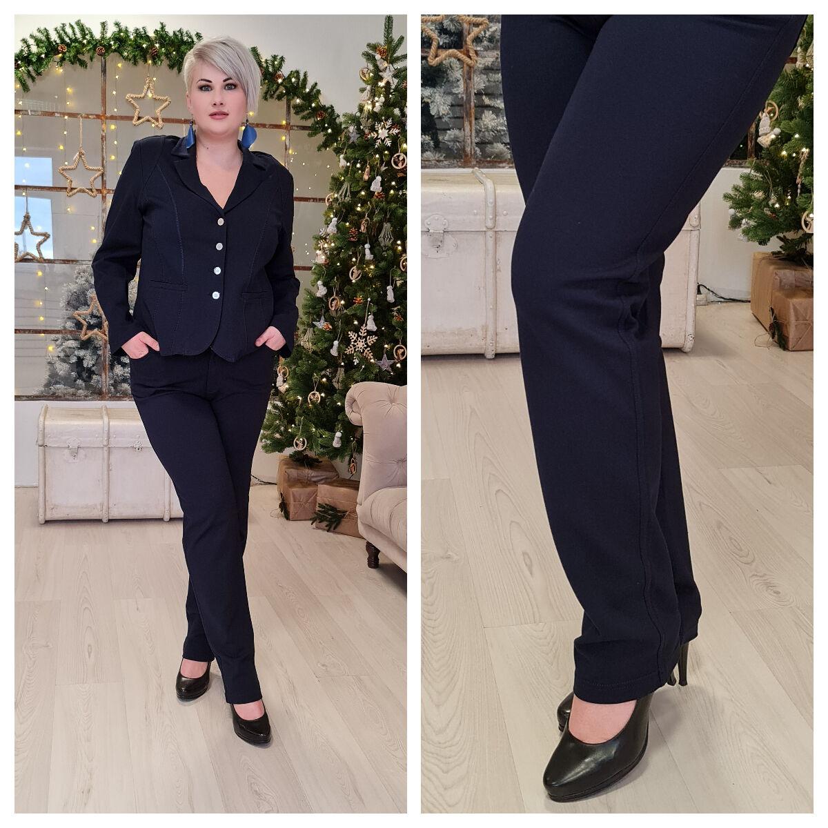 Matilde nadrág - nagyméretű Lafei-Nier kék nadrág