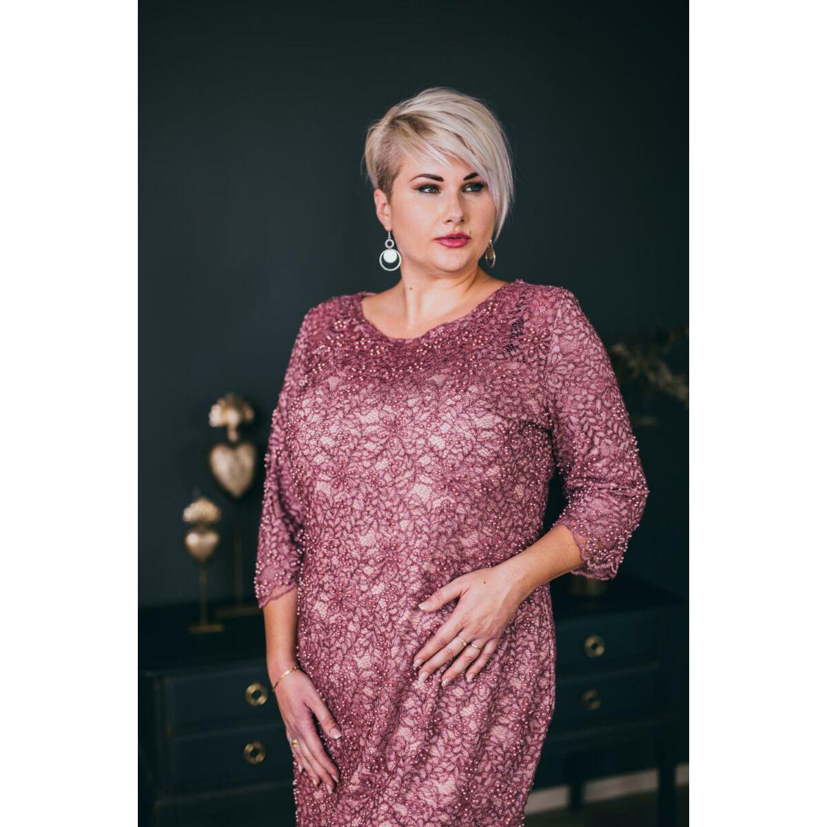 Beverly ruha - molett örömanya és alkalmi csipke ruha