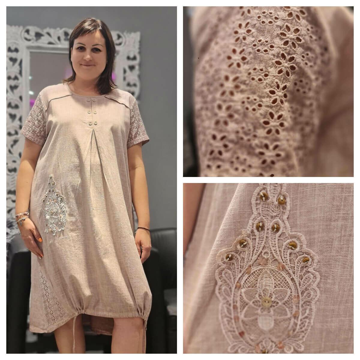 Alida ruha - nagyméretű kánikula ruha