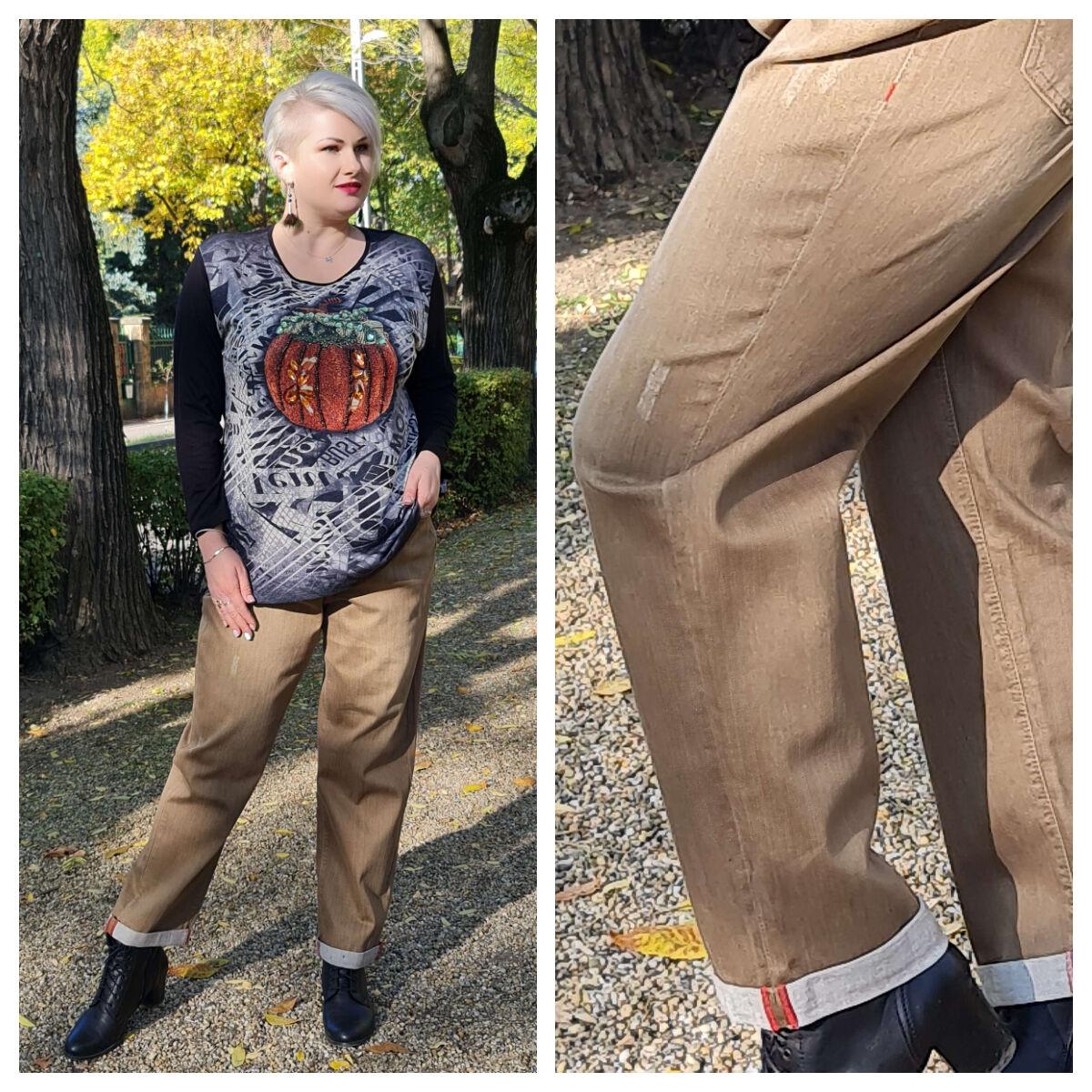 Aira nadrág - nagyméretű nadrág
