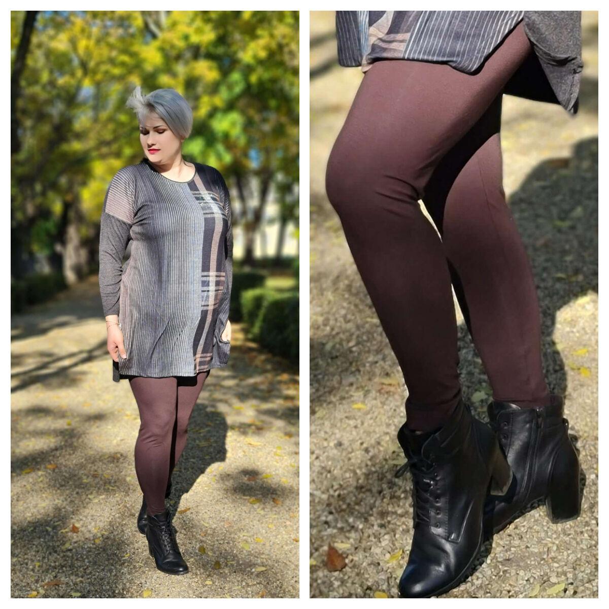 Asella leggings - plus size leggings