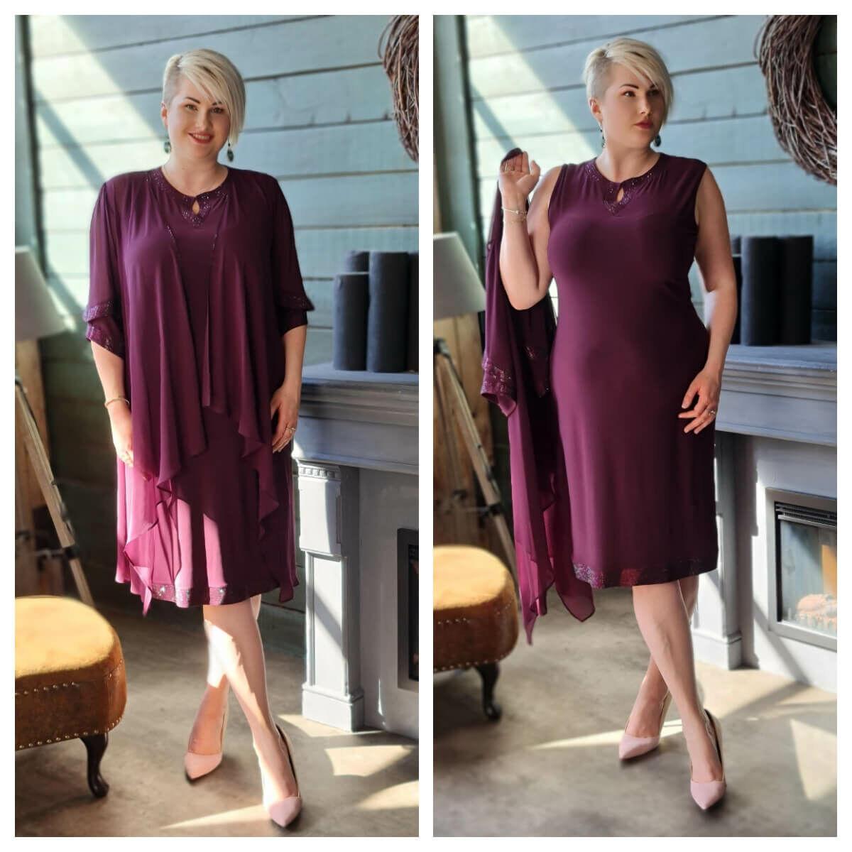 Dézy ruha - molett örömanya és alkalmi ruha