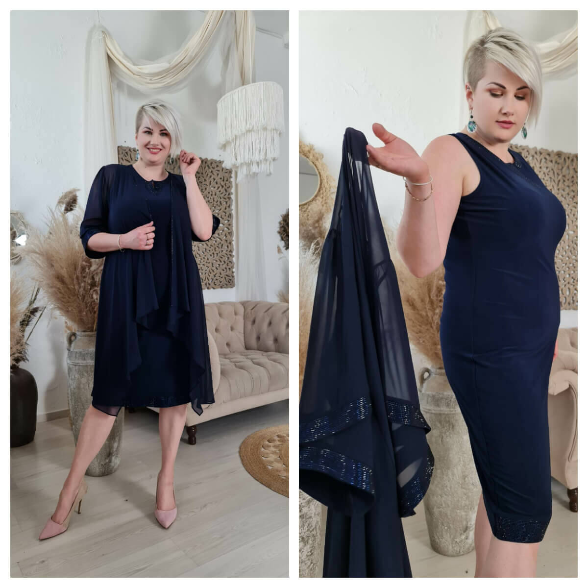 Danuta ruha - molett örömanya és alkalmi ruha