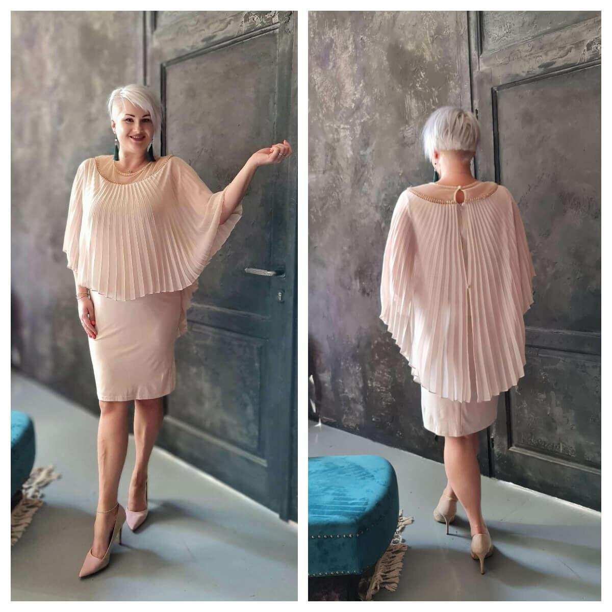 Ilda ruha - plus size örömanya és alkalmi ruha