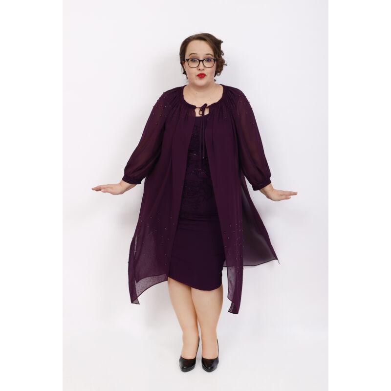 Regina ruha - plus size 2 részes örömanya és alkalmi ruha