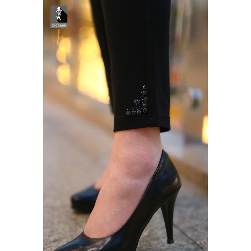 Herta nadrág - plus size Lafei-Nier fekete nadrág