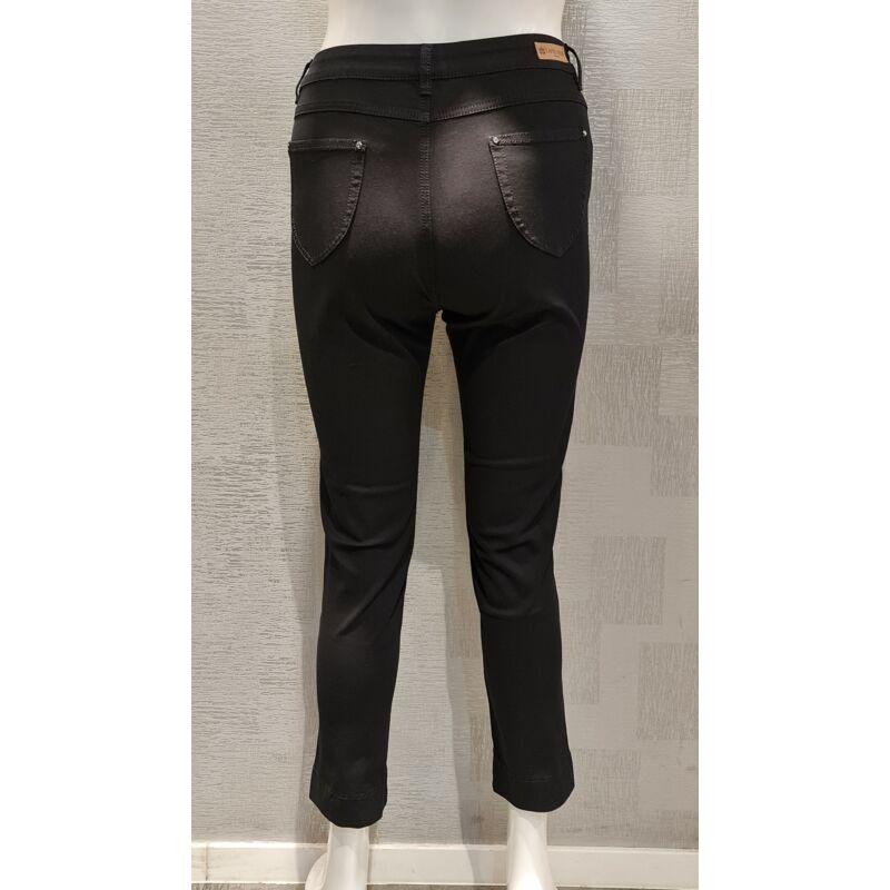 Kemmi nadrág - nagyméretű Lafei-Nier fekete pamut nadrág