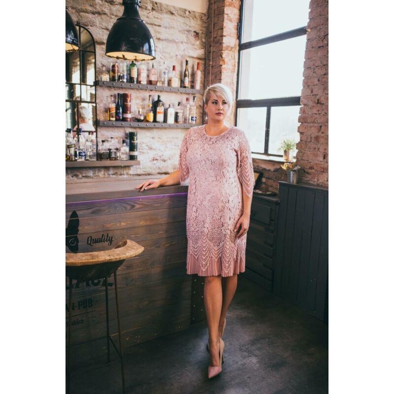 Carol ruha - plus size örömanya és alkalmi csipke ruha