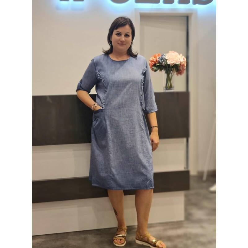 Irina ruha - molett kánikula ruha