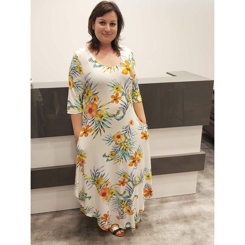 Asella ruha - molett mintás ruha