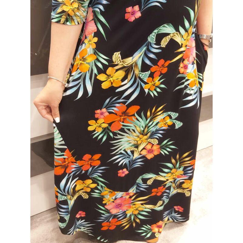 Arven ruha - nagyméretű mintás ruha