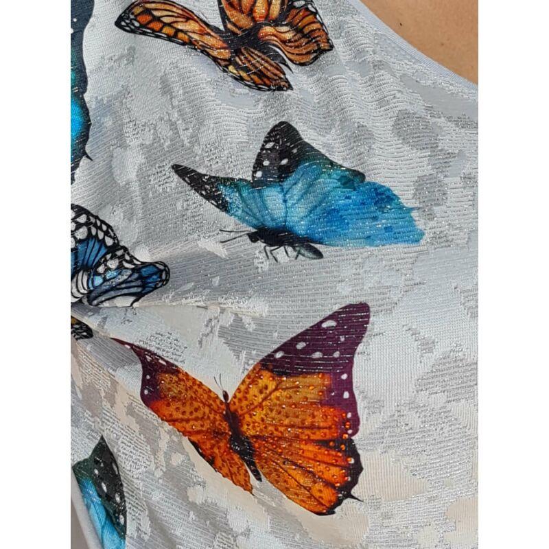 Afra felső - plus size pillangós felső