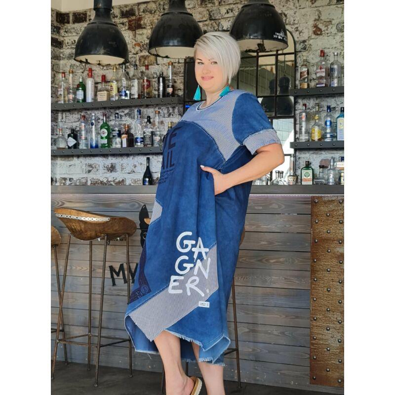 Irina ruha - molett farmer hatású ruha