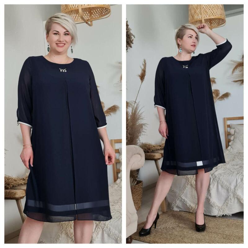 Celerina ruha - nagyméretű alkalmi és örömanya ruha