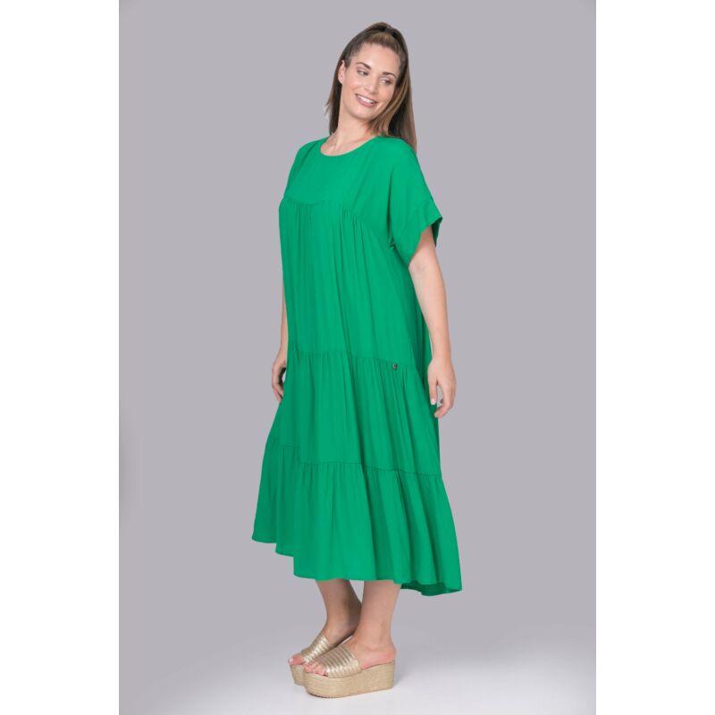 Kozett ruha - MAT Fashion zöld hosszú ruha