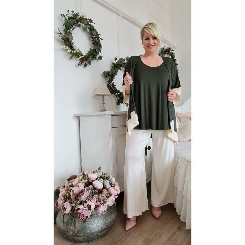 Bea kardigán - extra méretű MAT Fashion kardigán