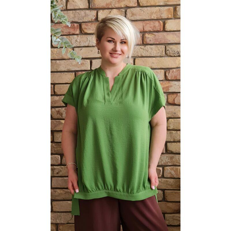 Fédra felső - MAT Fashion plus size zöld felső