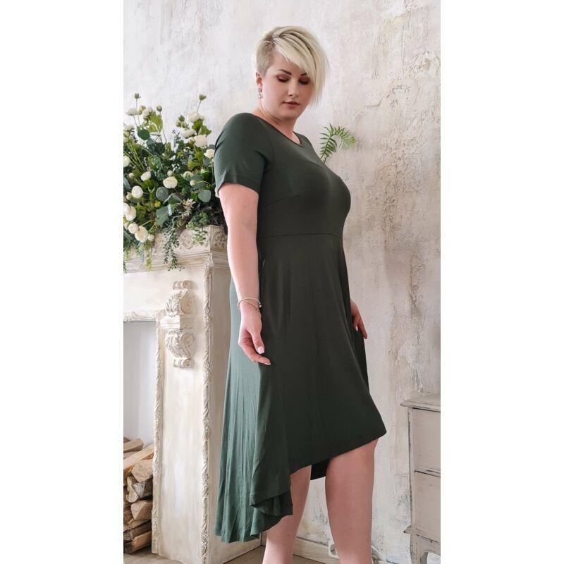 Nelli ruha - MAT Fashion molett zöld ruha