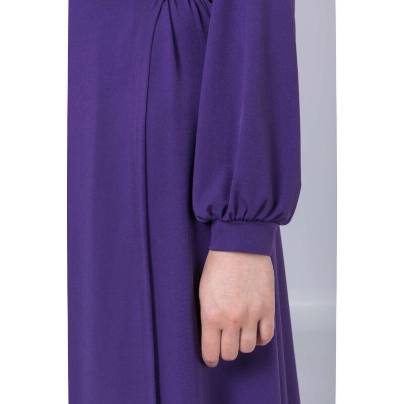 Tündi ruha - molett átlapolós ruha