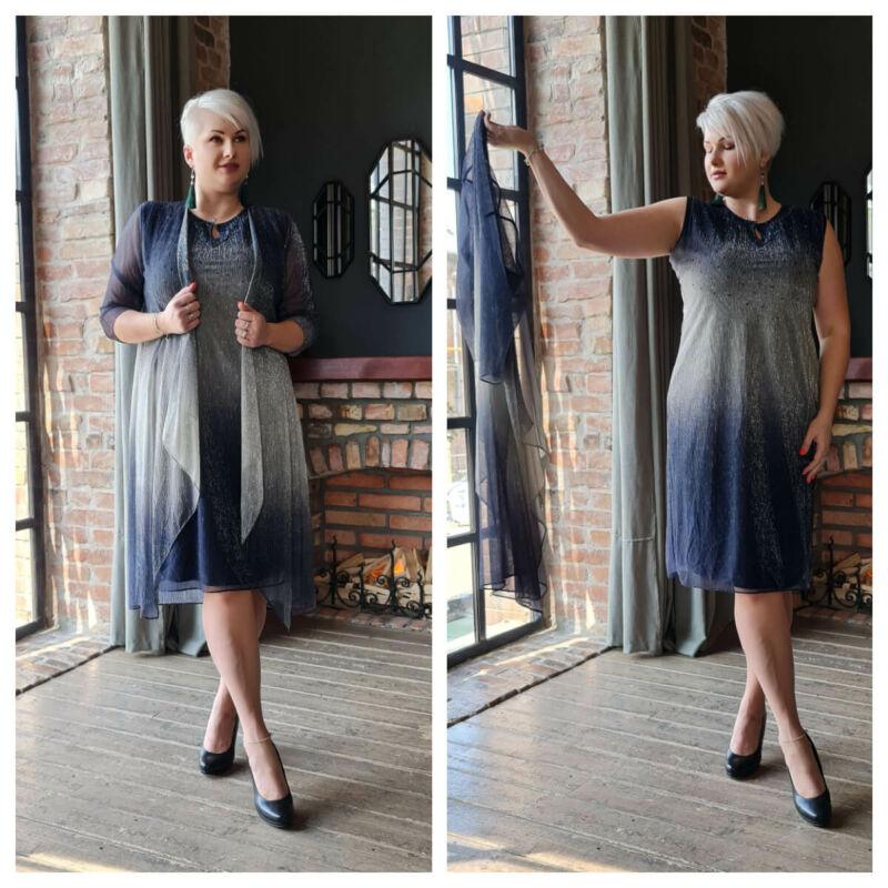 Kozett ruha - nagyméretű 2 részes alkalmi ruha