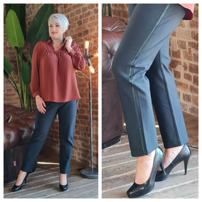 Larina nadrág - nagyméretű zöld nadrág