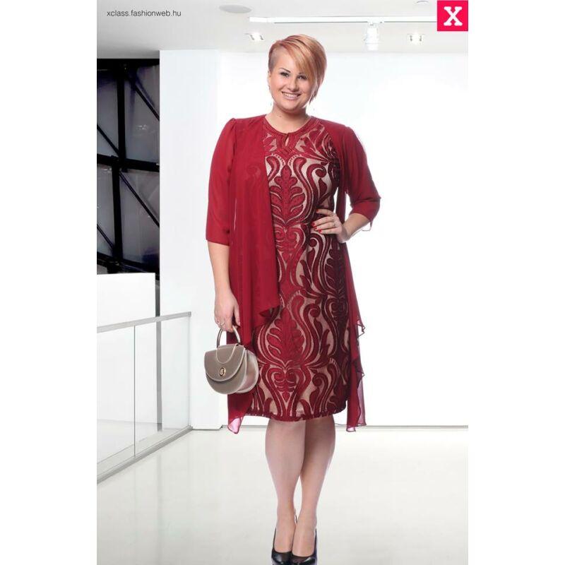Lotti ruha - nagyméretű 2 részes örömanya és alkalmi ruha